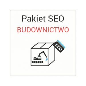 Pakiet SEO Budownictwo