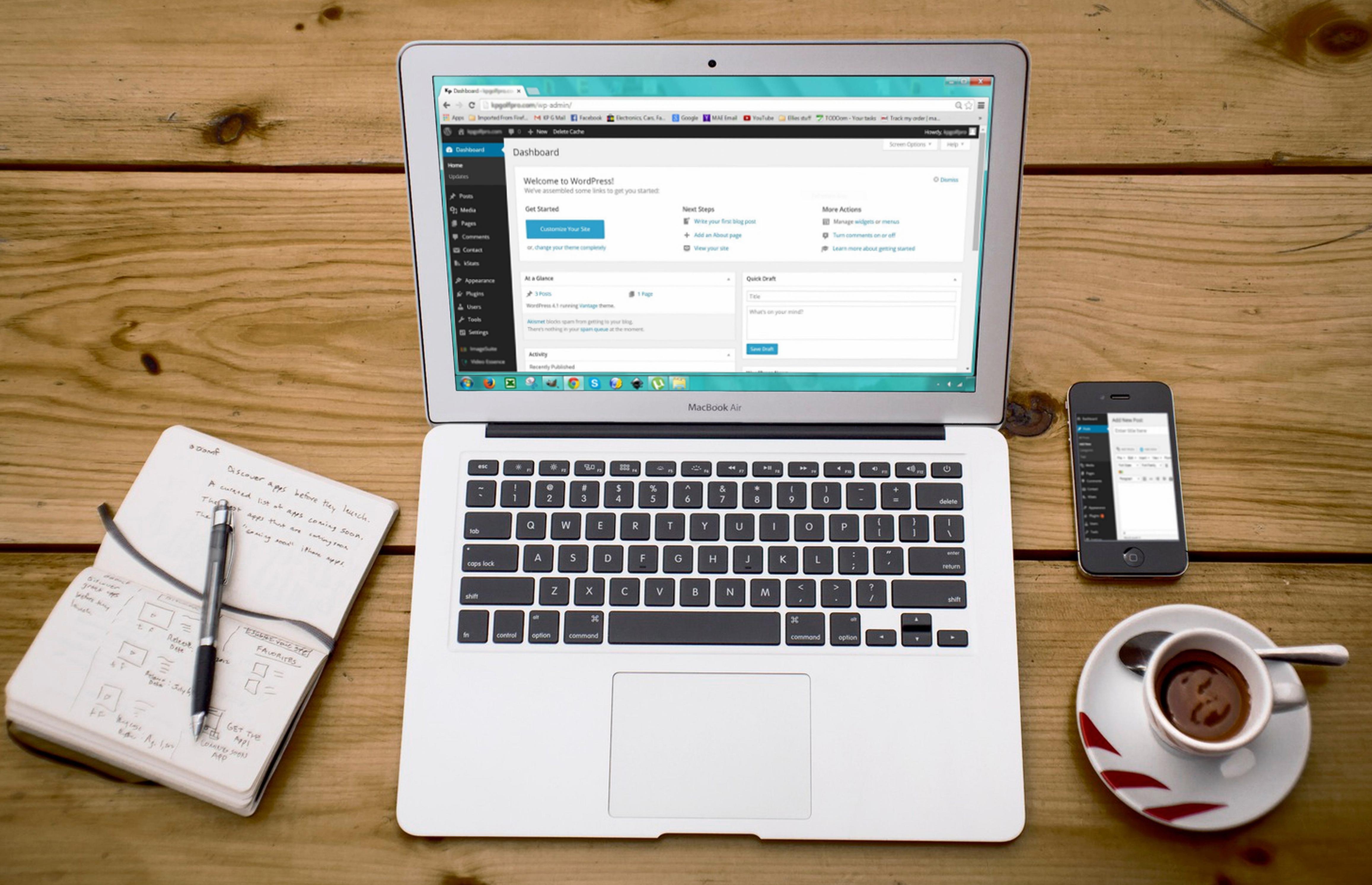 Biznesowa Strona Internetowa – Najlepsza Opcja To WordPress.